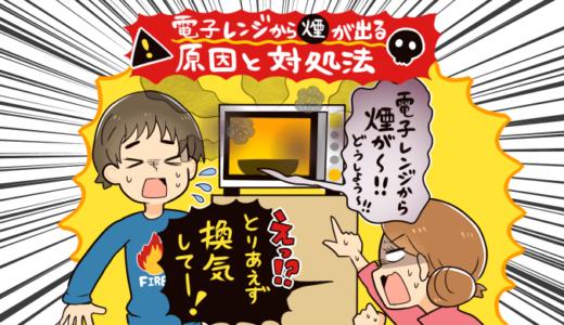 【保存版】電子レンジから煙が出るヤバい原因と対処法