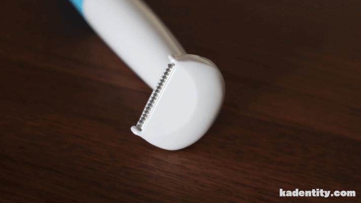 ラブコスメのIラインシェーバーの刃の部分